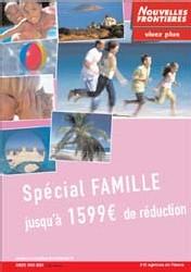 Nouvelles Frontières lance des offres spéciales ''Familles''