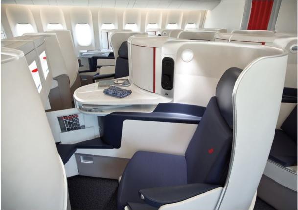 Lancement de la classe business et première d'Air France