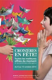"""L'affiche de """"Croisières en fête !"""" - DR"""