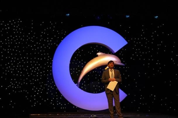 George Azouze, président de Costa France lors des lauréats de la mer 2014. DR