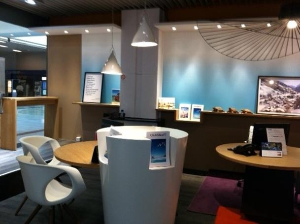 L'agence Bleu Voyages est la première en galerie commerciale à intégrer un espace Club Med - Photo DR