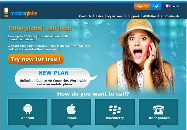 MobileGlobe propose aussi aux professionnels du tourisme de distribuer un service de « wifi portatif ».