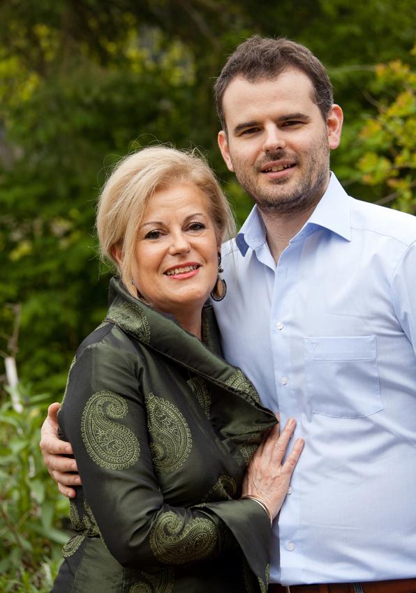 Mireille François et son fils  Nicolas Decker propriétaires des lieux - Photo Jérôme MONDIERE