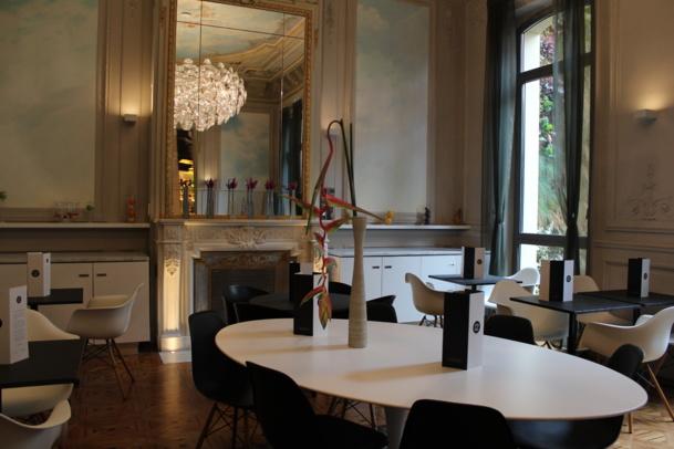 Lounge de l'hôtel C2 à Marseille. DR