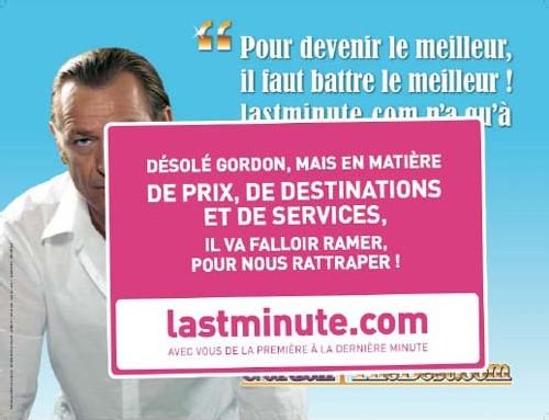 Promotion : Lastminute.com invente Gordon Murphy
