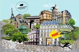 """""""Démasquez Paris"""" enquête urbaine au coeur de Paris. DR"""