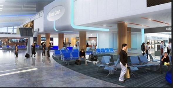 En zone commerciale, l'aéroport proposera une offre attrayante qui reflète la Côte d'Azur - DR