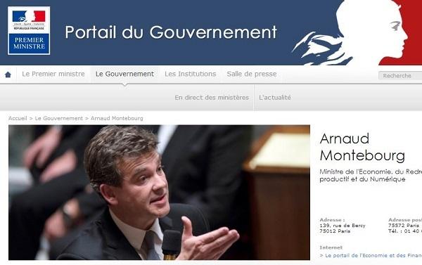 Arnaud Montebourg, ministre de l'Économie, du Redressement productif et du Numérique, a engagé mardi 27 mai une action contentieuse contre le groupe Booking.