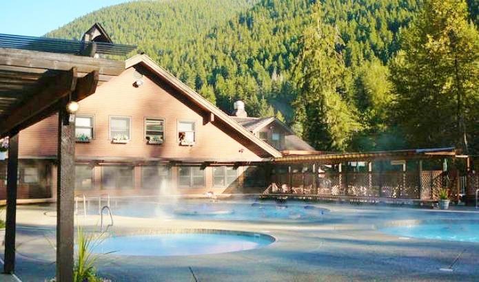 Le Sol Duc Hot Spring Resort dans la Péninsule Olympique