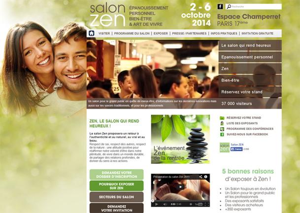 Le salon Zen se tiendra du 2 au 6 octobre 2014, à l'Espace Champerret, Paris 17e - DR