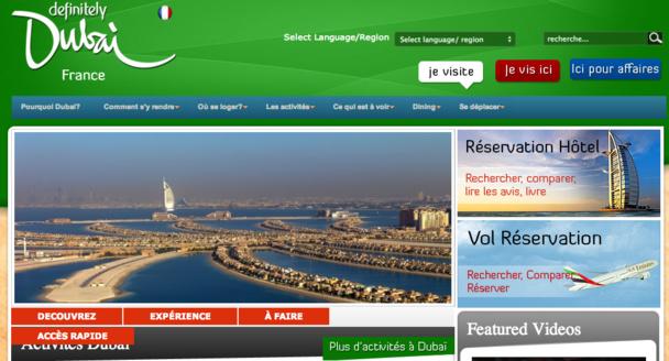 Grâce à la mise en place d'une nouvelle taxe de séjour, Pascal Maigniez espère récupérer de l'argent pour mieux promouvoir Dubaï sur le marché français. DR