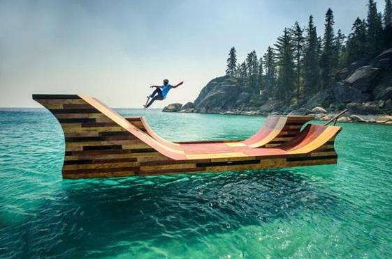 Parmi les 24 vidéos diffusées durant la première phase de la campagne, la plus populaire est celle de la Rampe de Skate Flottante de Bob Burnquist sur le Lac Tahoe.