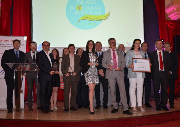 Les lauréats des Palmes décernées ce jeudi soir à Aix-les-Bains.