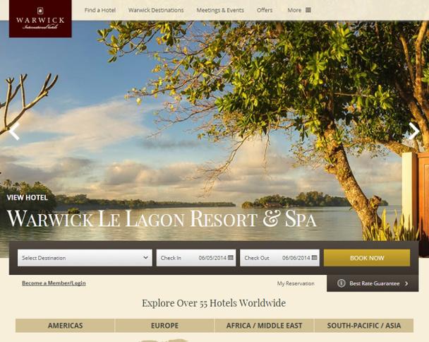 Le nouveau site Internet de WIH s'adapte à l'écran sur lequel il est consulté - Capture d'écran