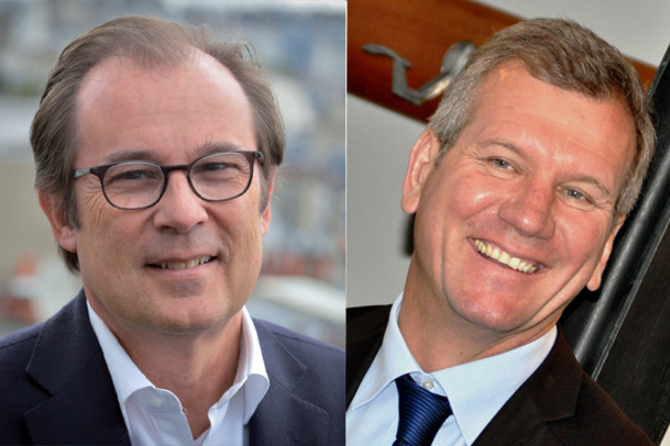 Christian Mantei Directeur Général d'Atout France et Marc Béchet Directeur Général de Rhône Alpes Tourisme - DR