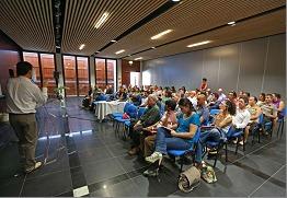 Conférence lors de la formation TripAdvisor à la Réunion le 4 juin 2014. DR