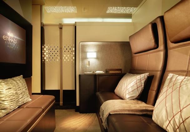 """Etihad va lancer des mini-studios de près de 12 m2 avec un coin salon, un lit double, une douche privative et des toilettes privatives, dénommée """"the residence"""" - DR"""