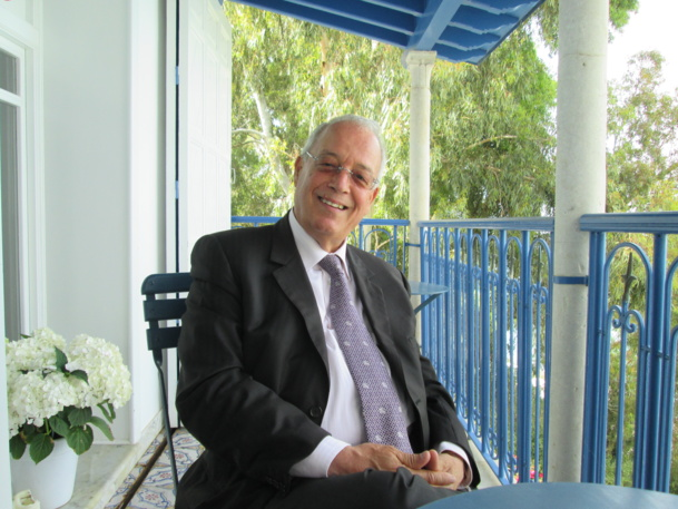 Raouf Bouassida, homme d'affaires, collectionneur, hôtelier.