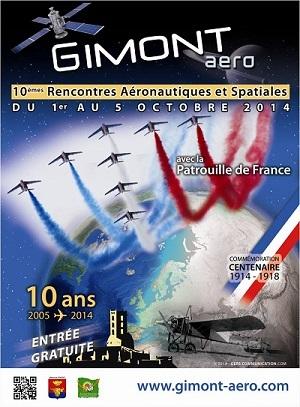 La 10ème édition des Rencontres Aéronautiques et Spatiales de Gimont auront lieu du 1er au 5 octobre 2014. DR