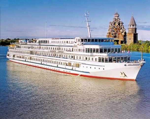 Le M/S Kandinski Prestige, bateau de la nouvelle génération en Russie