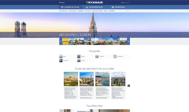 Les guides destination de Ryanair sont disponibles en ligne au format PDF - DR