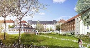 L'hôtel B&B de Magny-le-Hongre, près de Disneyland Paris, comptera 400 chambres et sera le plus important du groupe - DR