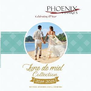 Nouvelle Brochure « Lune de Miel 2014-2015 » de Phoenix Voyages. DR