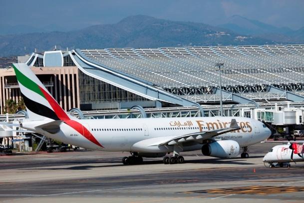 Cela fait désormais 20 ans qu'Emirates opère à l'aéroport Nice-Côte d'Azur - Photo DR