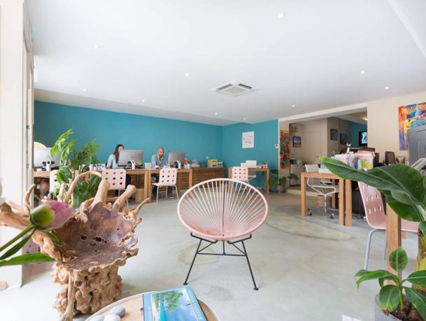 Turquoise TO est basé à Aix-en-Provence et dispose également d'une vitrine qui a pignon sur rue - Photo DR