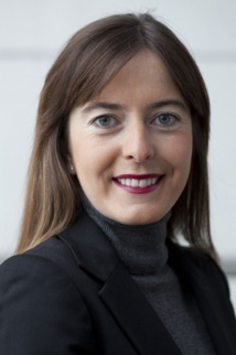 Eugenie Audebert, business experience manager of Air France