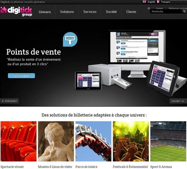 Digitick Systems est une plateforme de billetterie 100% web innovante pour les établissements culturels et de loisirs souhaitant disposer d'une solution complète de billetterie/CRM hébergée et multicanal.