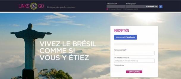 Links&Go, le site qui vous rapproche de vos voisins de vacances.