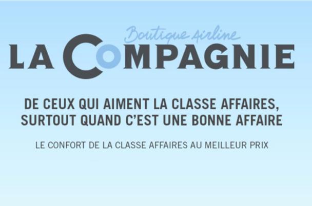 """Et voici donc, après """"L'Avion"""", """"La Compagnie"""" (en anglais Dreamjet), un transporteur aérien 100% français, avec des investisseurs français, des aviateurs (oui, je sais le terme est ringard, mais ça me plait), de la bouffe française, des vins français… - DR"""