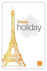La nouvelle offre Orange Holiday. DR