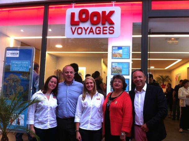 La nouvelle équipe de l'agence Look Voyages à Maisons-Alfort. Photo LAC