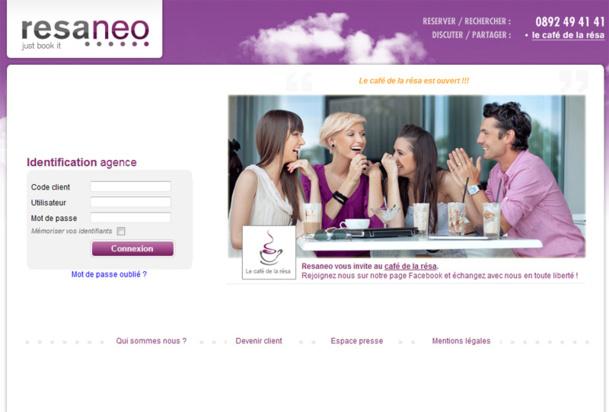 Resaneo propose désormais son moteur de recherche de vols en marque blanche. - DR
