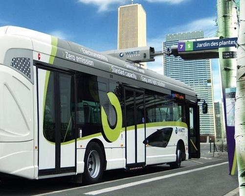 Le bus électrique sera testé à l'aéroport Nice Côte d'Azur pour sa desserte interne - Photo DR