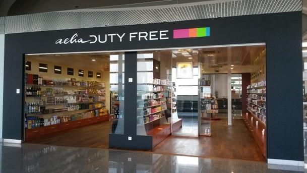 L'aéroport de Toulon Hyères se dote d'une nouvelle boutique duty-free - Photo M.B.