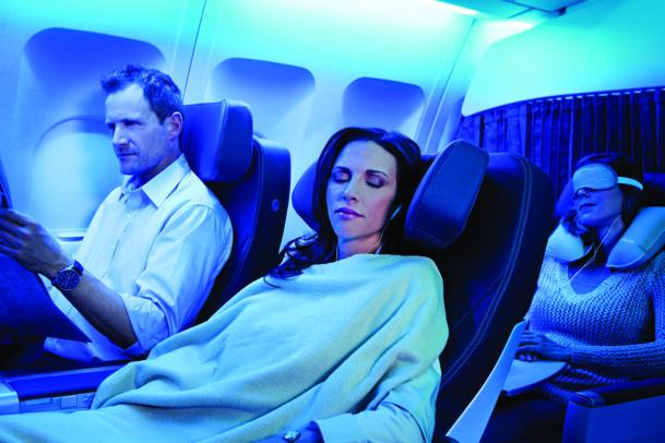 La Classe Club d'Air Transat séduira les clients à la recherche d'un bon rapport qualité prix - DR : Air Transat