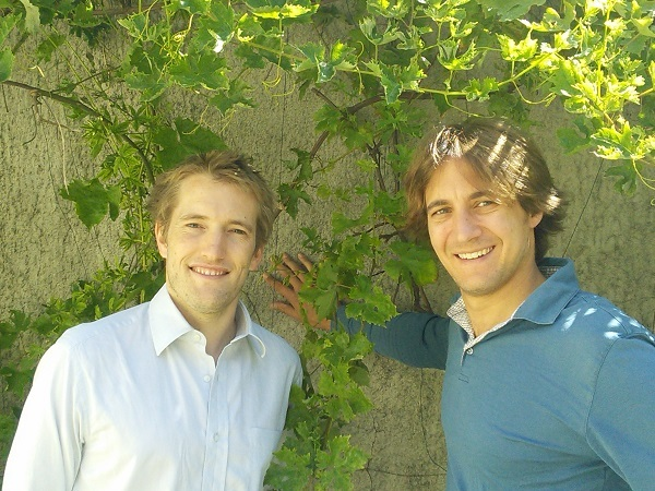 Benoît et Bertrand, les co-fondateurs de Marcel
