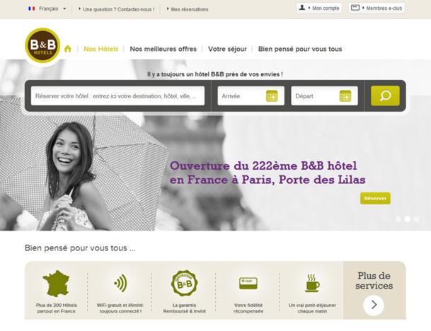 B&B Hôtels : un nouvel hôtel écoresponsable à prix modéré à Paris