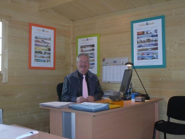 Jean-Marie Baillot pourrait prendre sa retraite, mais, heureux dans ses activités, il continue - Photo DR