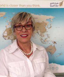 Marcelle Marquis la directrice France de Gulf Air.