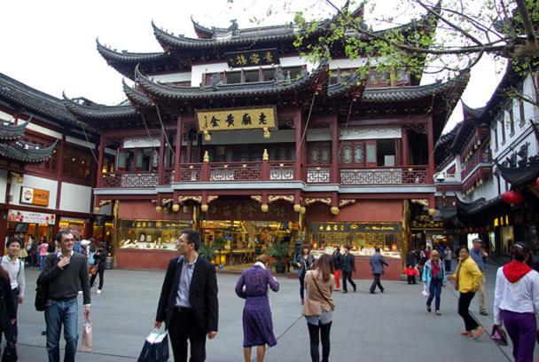 Shanghai est une mégapole de contrastes séculaires, à l'image du pays tout entier - DR : J-F.R.