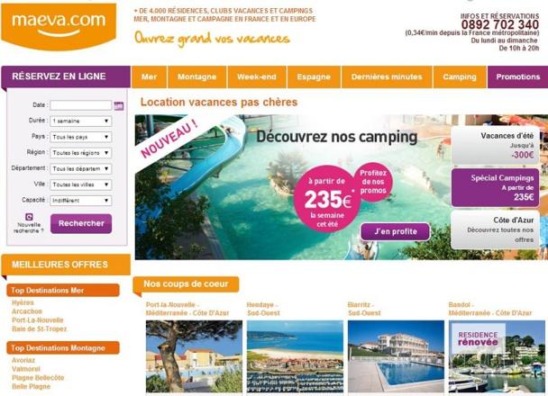 Le Groupe Pierre & Vacances-Center Parcs  confirme le déploiement  d'une nouvelle activité de distribution sur internet et s'associe à La Compagnie des Vacances.