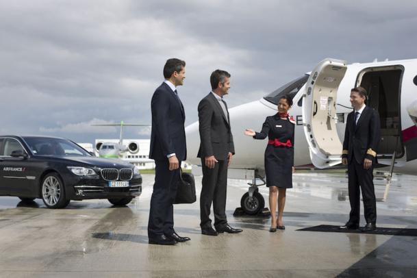 Air France vient de lancer un nouveau service de jets privés pour ses passagers de première classe. DR