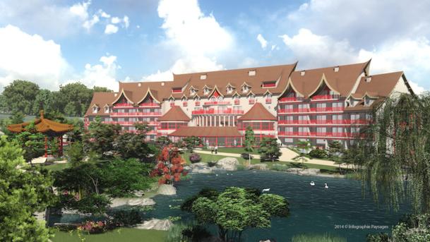 Zoo de beauval un nouvel h tel pour s duire les groupes for Hotels de beauval