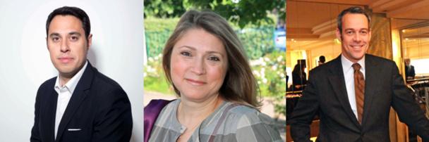 Benjamin Lanier, Nazan Erol et Thadée Nawrocki DR