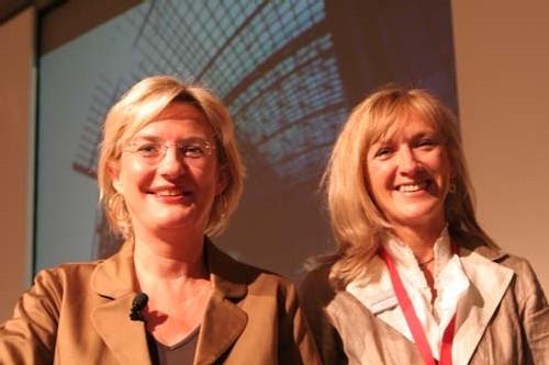Patra Hedorfer et Béatrix Haun