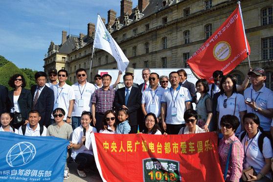 La Maison de la Chine a organisé un autotour en France pour des officiels chinois